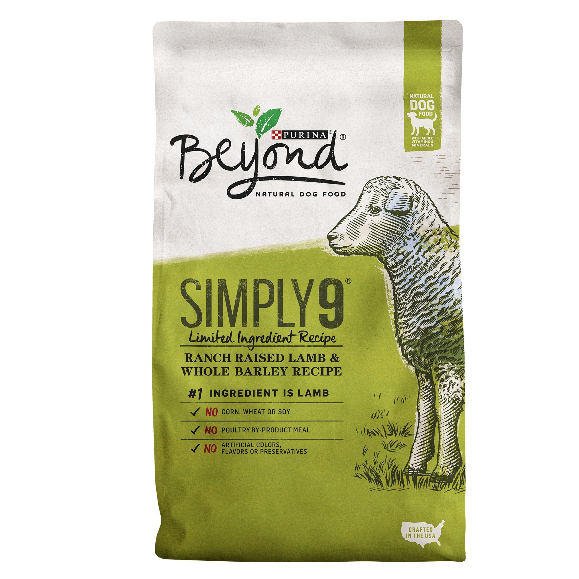 Purina Beyond Simply 9 RanchRaised Lamb and Whole Barley