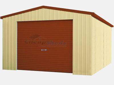 Cheap Sheds Smartbild Single Garage Zinc 4m X 6m Garages And