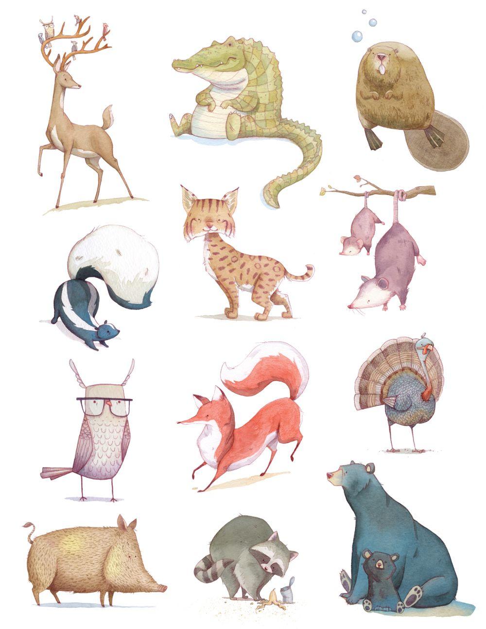 watercolor - illustrations」おしゃれまとめの人気アイデア