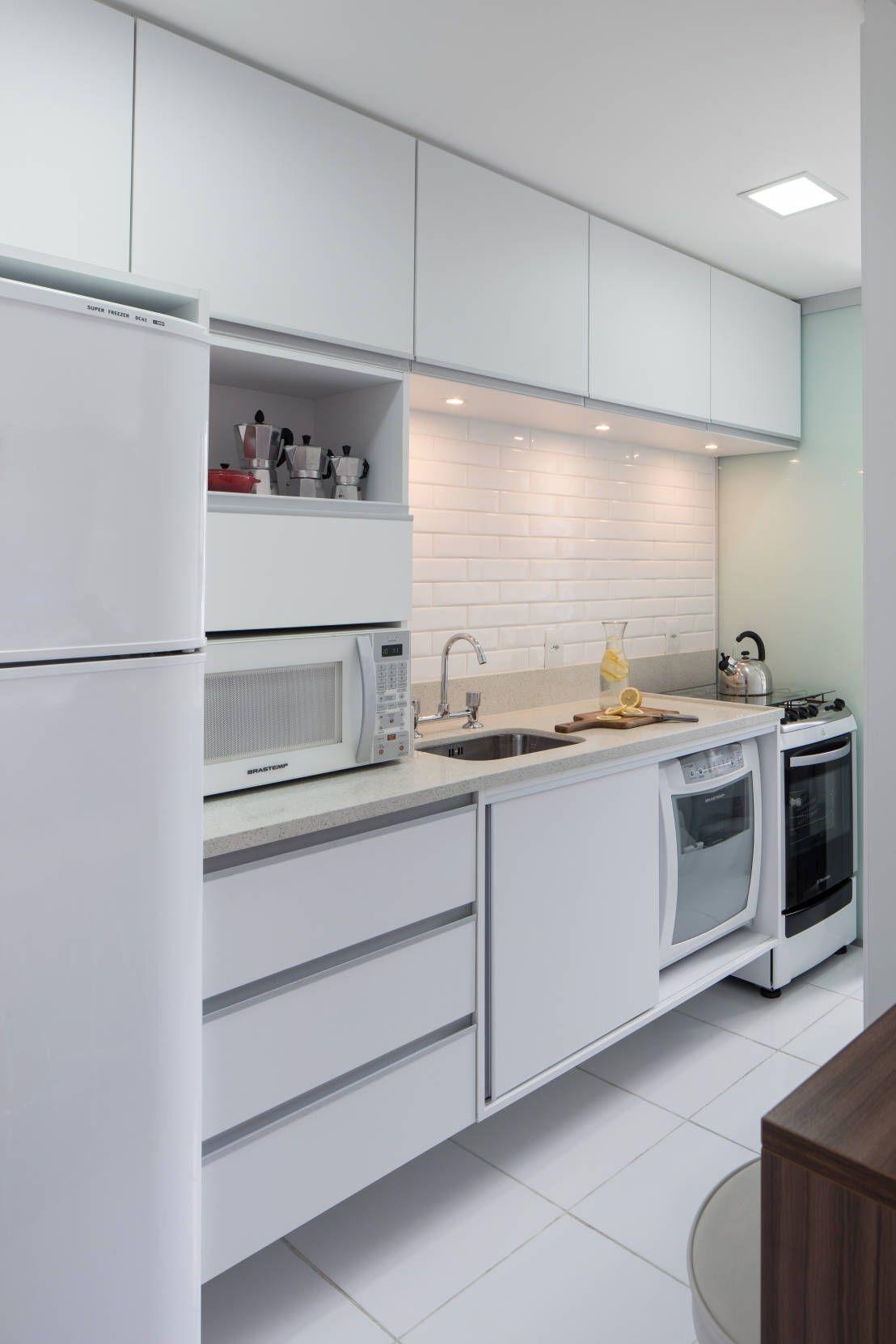 Resultado de imagem para cozinha planejada para apartamento pequeno