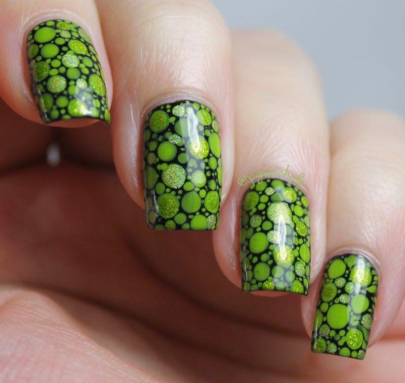 Science Nail Designs: Dots #dotticure Nail