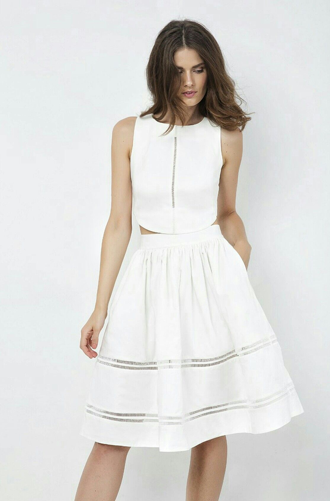 White skirt 59264dca0a4