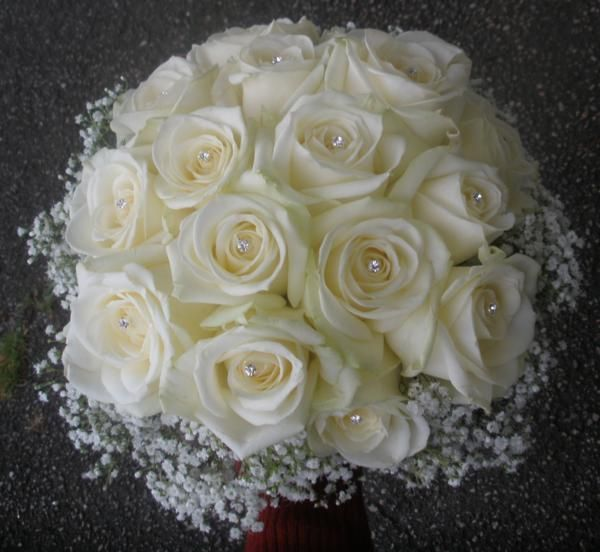 roses flowers gypsophila flower - photo #17