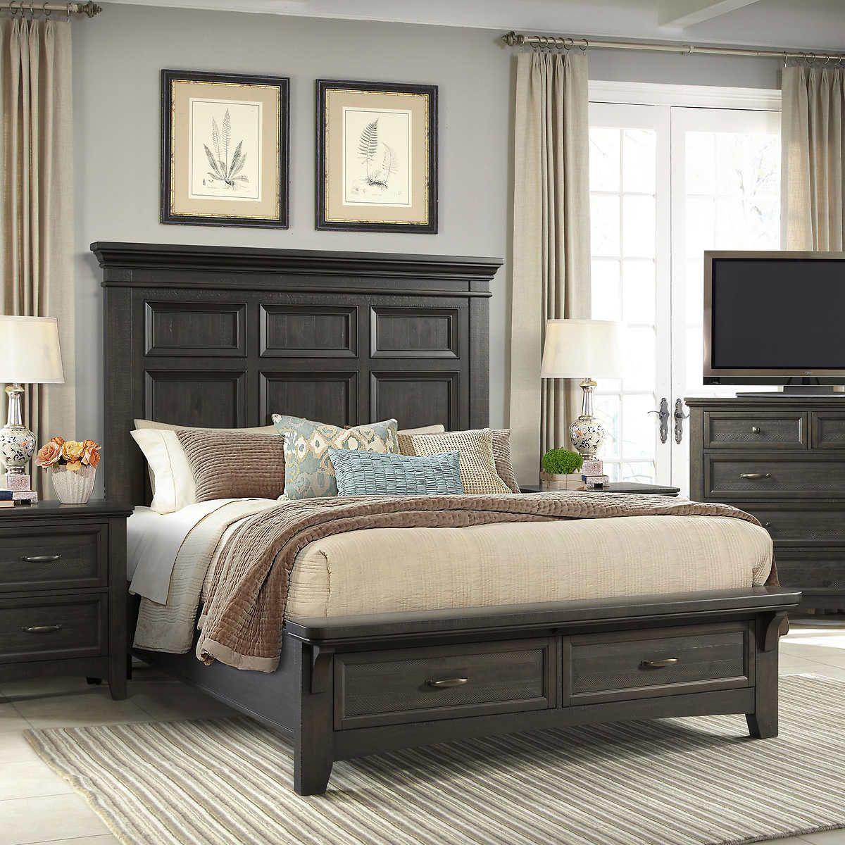 Riley Park Queen Bed Bed, King beds, Queen beds