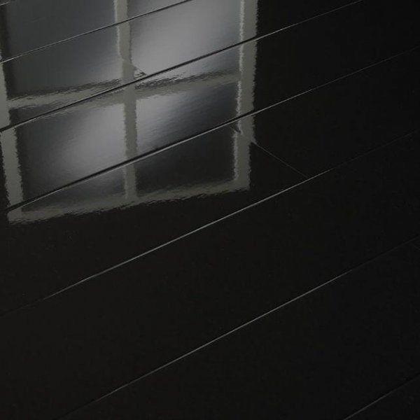 Attractive Black High Gloss Laminate Flooring Black High Gloss