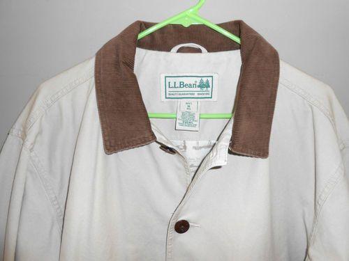 L.L. Bean Cotton Canvas Barn Coat Jacket- Men's Medium