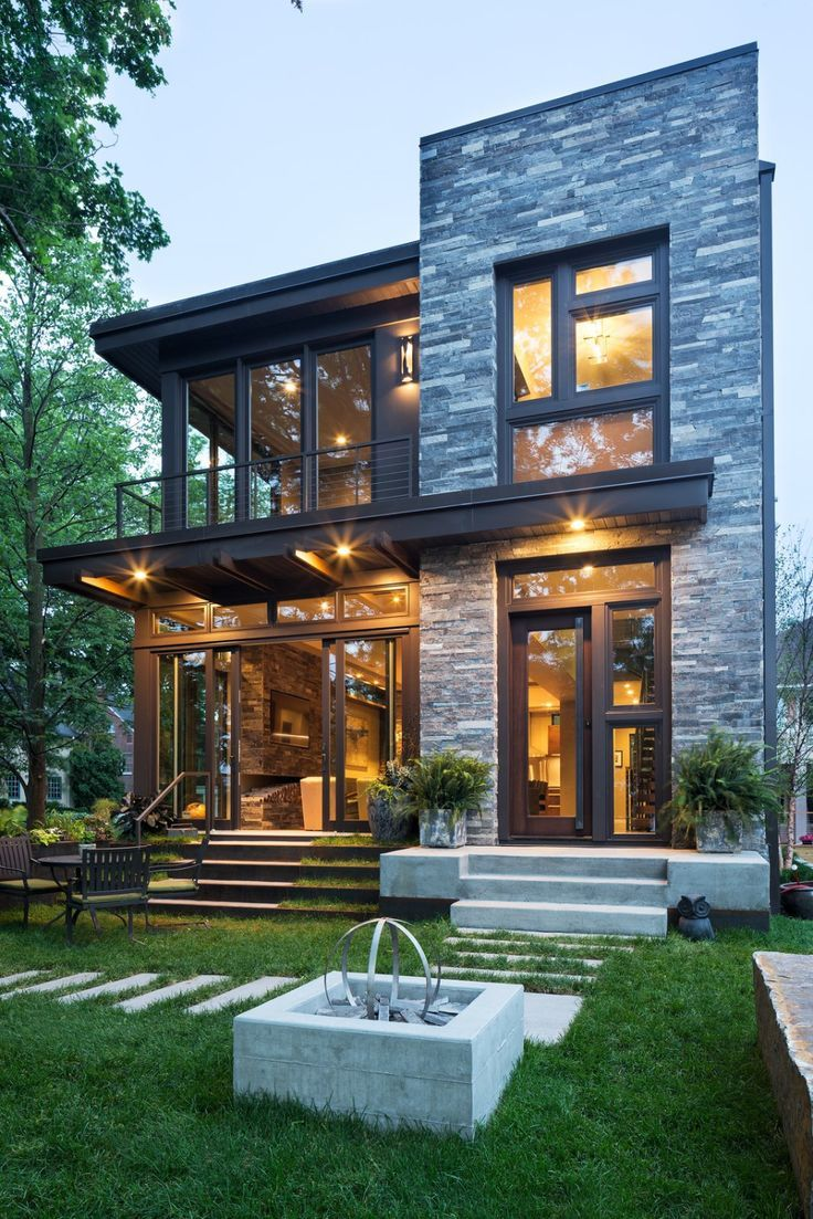 Photo of Lake Calhoun Organic Modern Modern Home in Minneapolis, Minnesota