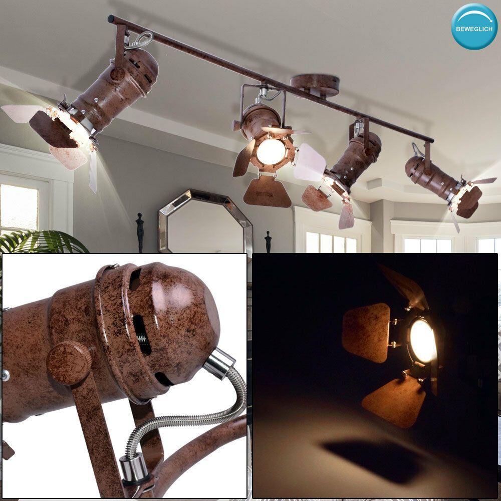 RETRO Vintage Decken Pendel Industrie Design Lampe Hänge Leuchte Beleuchtung