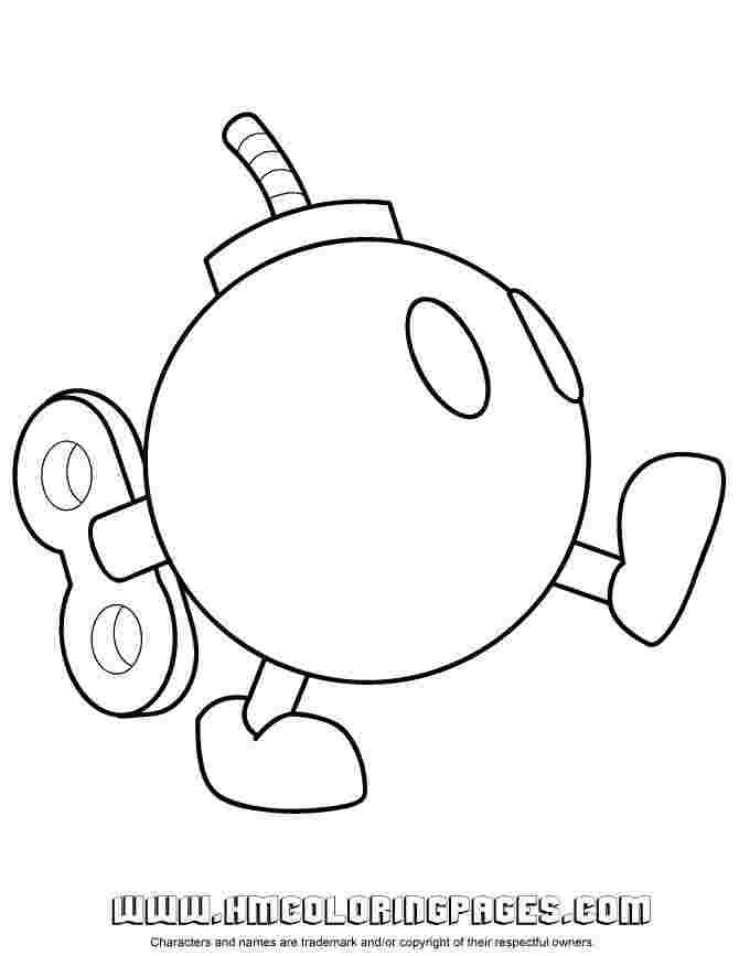 Bullet Bill Coloring Pages In 2020 Mario Coloring Pages Super
