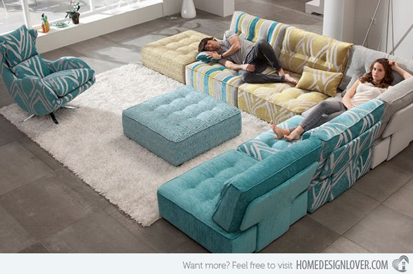 15 flexible modern modular sofa systems modular sofa for Mah jong modular sofa knock off