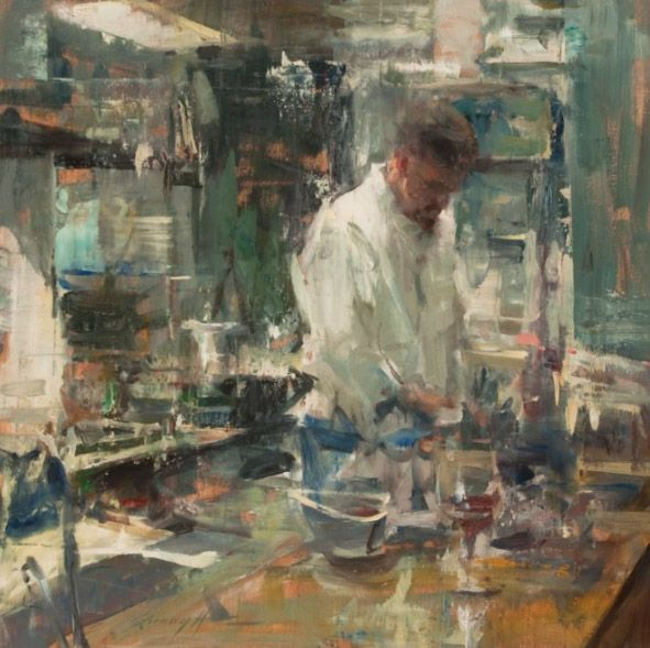 Gurney Journey: Quang Ho Portrait Demo