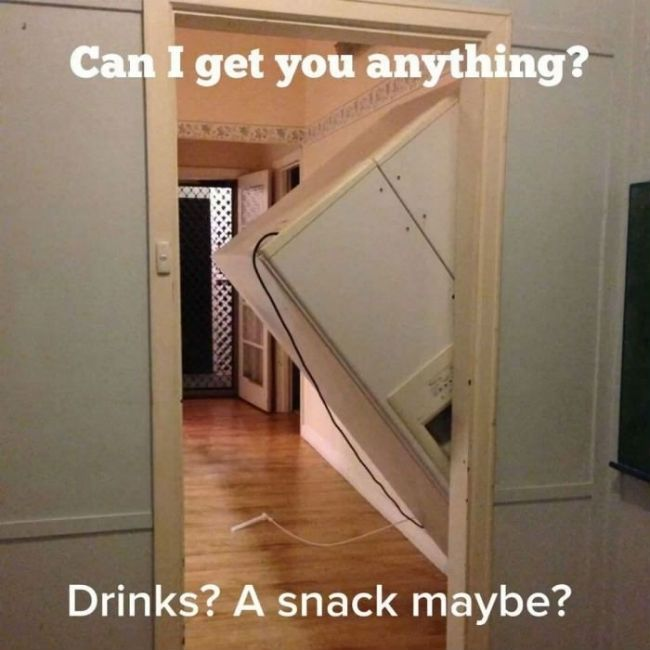 Overly Friendly Refrigerator