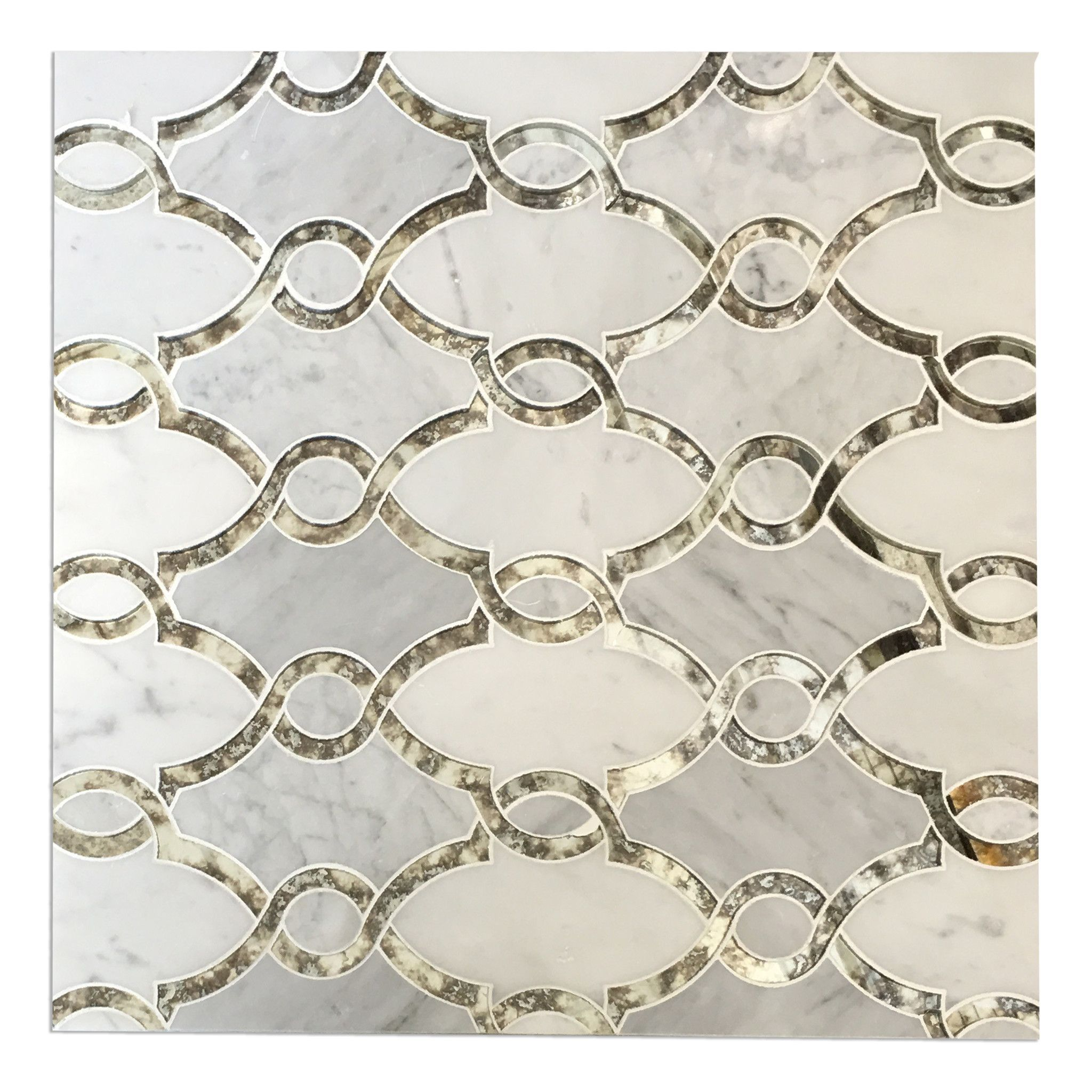 LUXURY WATER JET MOSAIC MARBLE TILE Luxury waterjet mosaic tiles ...