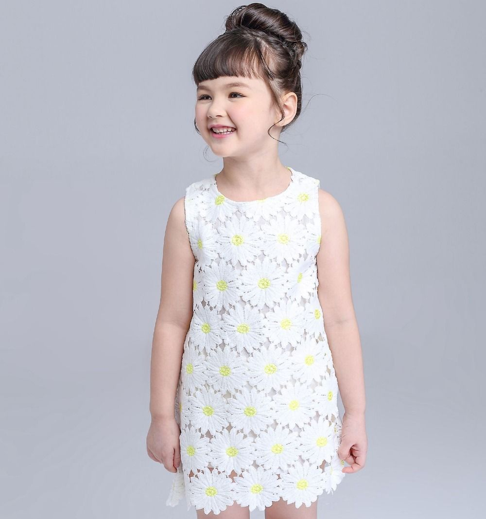 Toddler boy dress clothes for wedding  Click to Buy ucuc Summer Daisy Flower Lace New Brand Girls Dresses