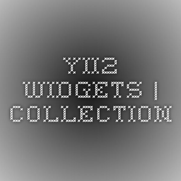 yii2-widgets | collection | Yii | Extensions
