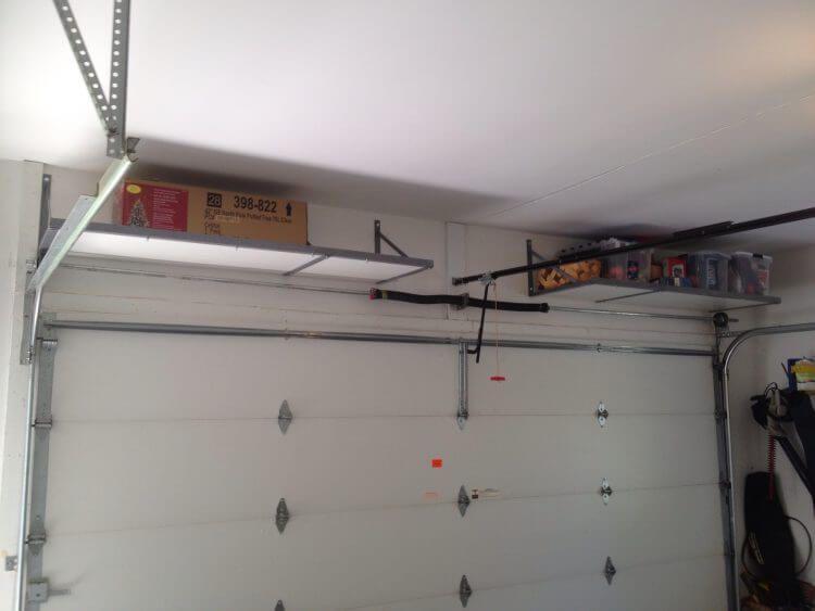 13 Creative Overhead Garage Storage Ideas You Should Know 4 Garage Ceiling Storage Diy Garage Storage Ceiling Storage