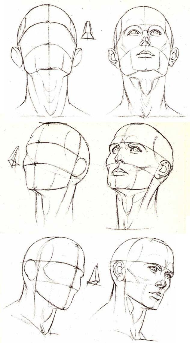 How To Draw Manga Looking Up