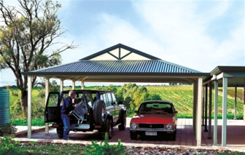 Stratco Outback Dutch Gable available now from Verandah