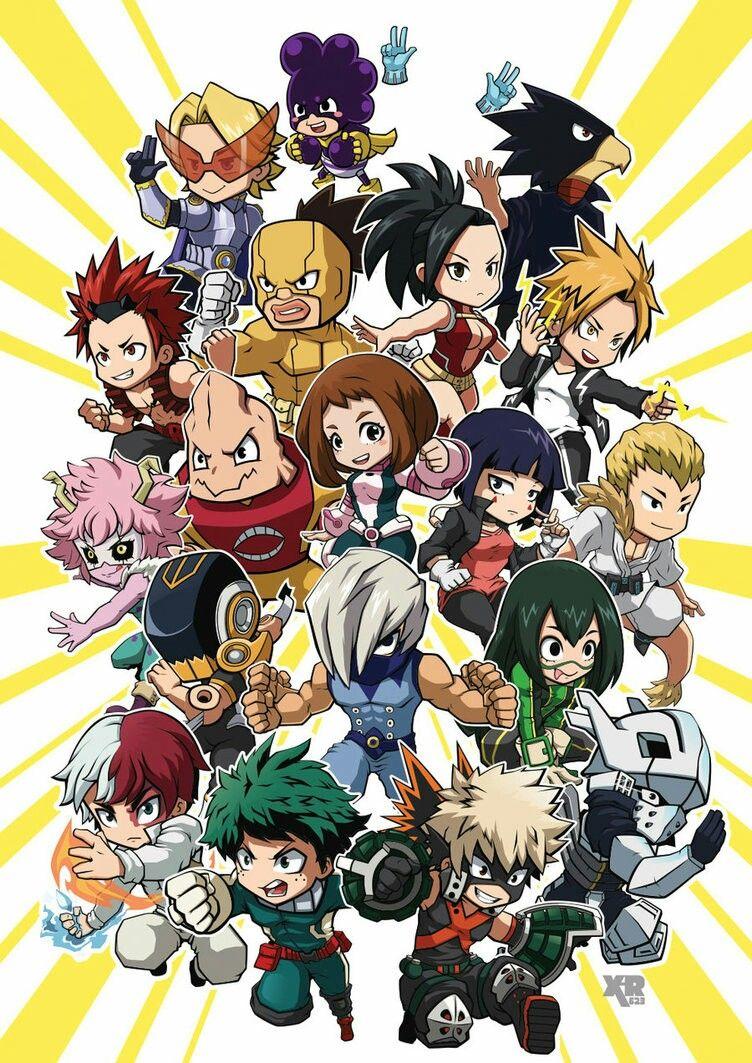 Class 1a Hero Wallpaper Anime Wallpaper My Hero