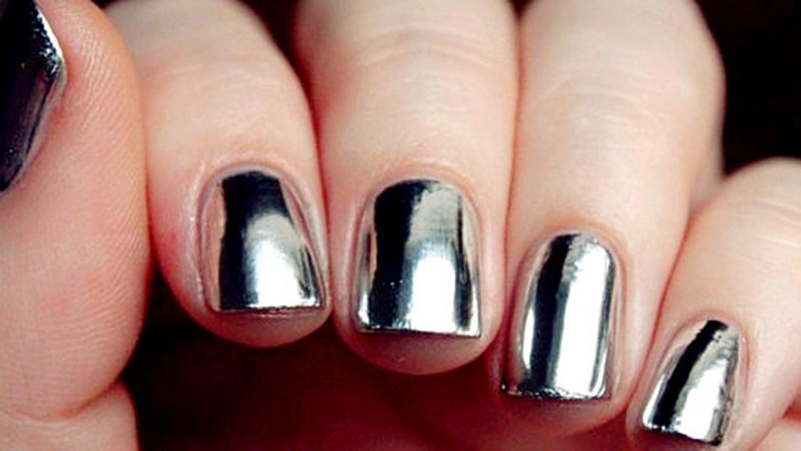 Las uñas espejo se apoderan de Instagram | Uñas | Pinterest | La uña ...