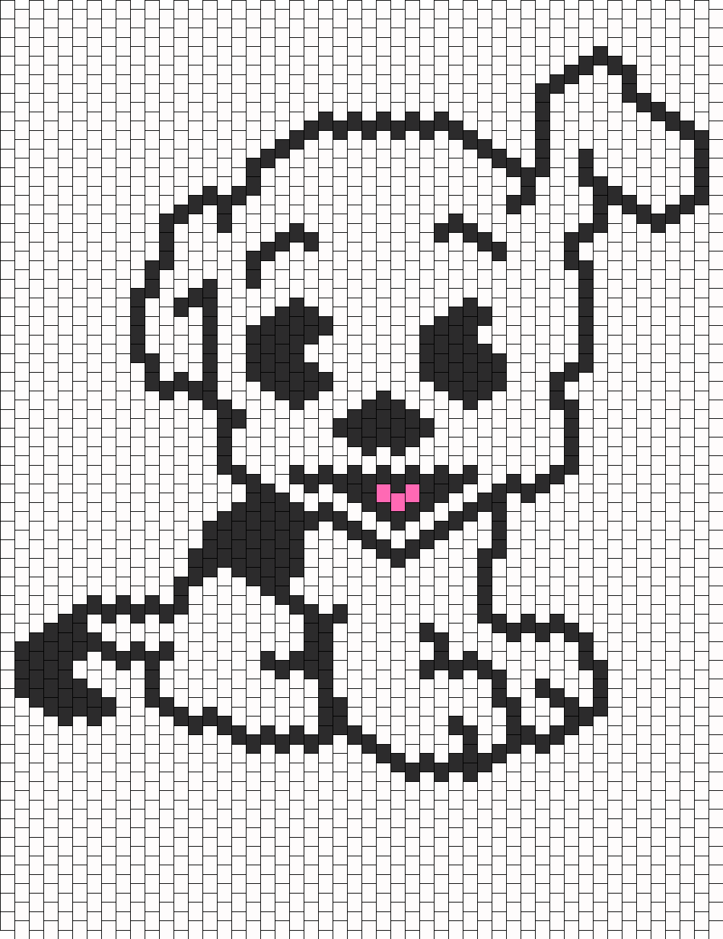 Pudgie Front View From Betty Boop bead pattern | Betty Boop ...