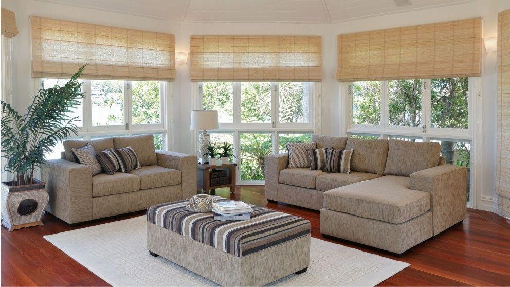 City 3 Piece Fabric Lounge Suite