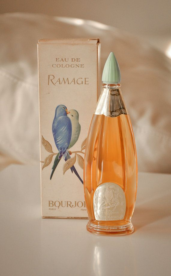 Bourjois ramage eau di cologne 100ml splash vintage - Profumo per bagno ...
