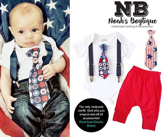 4b635667936e Baby Boy 4th of July Outfit - Fourth of July Shirt - Newborn Fourth ...