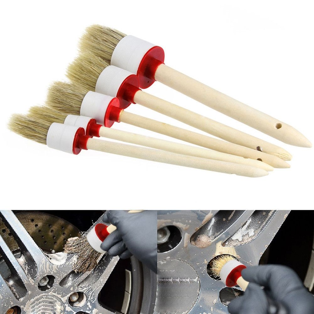 Car Detailing Soft Brushes 5pcs/lot Car cleaning, Car