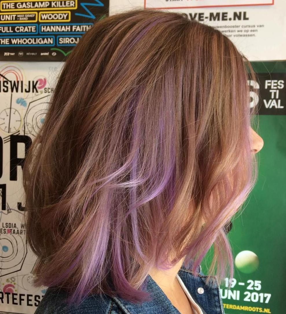 images 40 Ideas of Peek a Boo Highlights for Any Hair Color