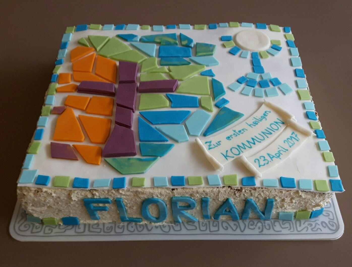 Kommunion Kuchen Konfirmation Torte Konfirmations Torten Pinterest