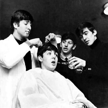 The Origin Of The Beatles Haircut The Beatles Beatles Photos Beatles Love