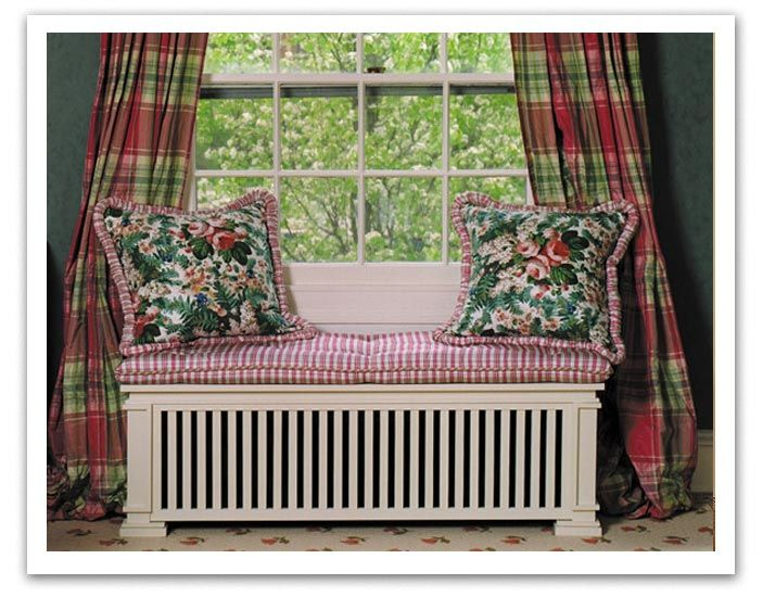 Radiator Cover As A Wide Bench Seat Great Idea Window Seat