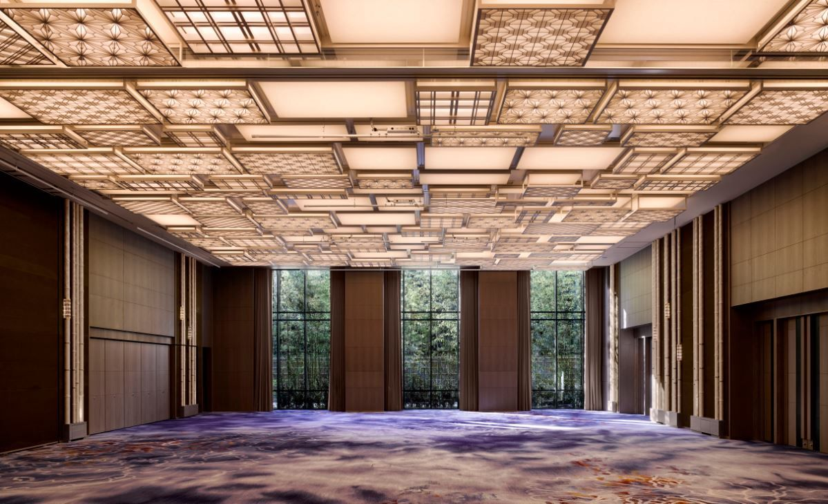 Ballroom at the four seasons kyoto by hba design four for Design hotel kyoto