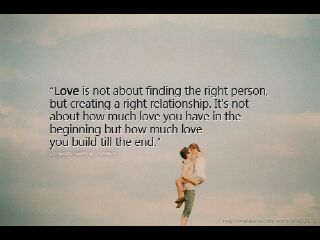 Life Is Not About Finding The Right Person Mushy Love 3