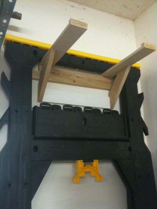 French Cleats To Hang Sawhorses