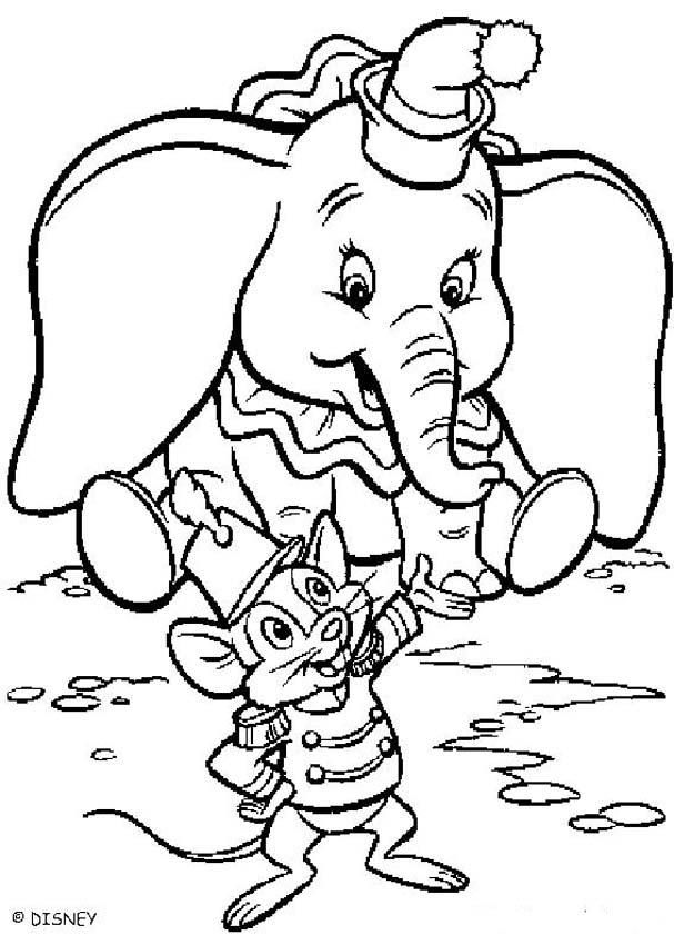 Dumbo Coloring Pages Dumbo S Friend Disney Coloring Pages Coloring Pages Elephant Coloring Page