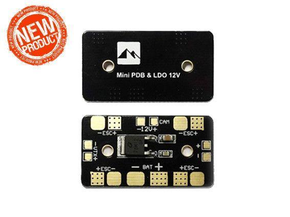 Mini PDB Power Distribution Board 12V Linear Regulator LDO 12V For FPV  Drone