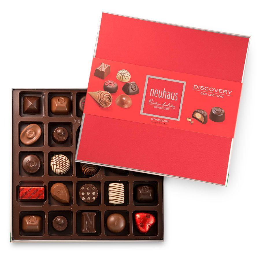 Neuhaus Belgian Chocolate Collection Discovery 25 Pcs Chocolate Assortment Chocolate Gift Boxes Luxury Chocolate
