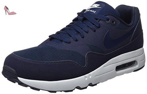 Nike Air Max 1 Ultra 2.0 Essential, Baskets Basses Homme, Bleu (Obsidian/Obsidian-Pure Platinum-White), 44 EU - Chaussures nike (*Partner-Link)