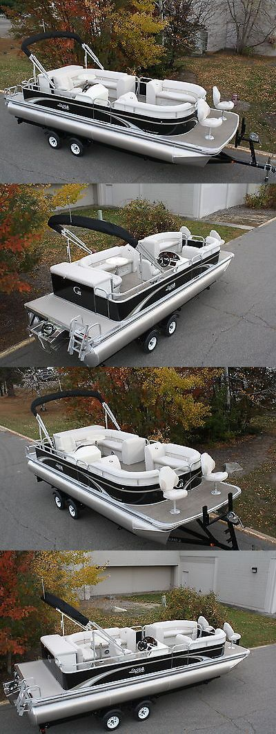 Boats New 25 Ft Pontoon Boat With 115 Four Stroke Mercury