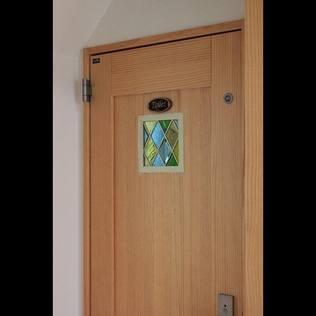 diy トイレ ステンドグラス ドアのインテリア実例 2015 05 31 19