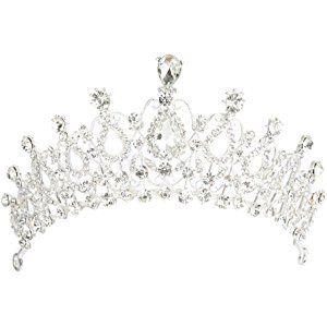 FENICAL Blume Perle Braut Brautjungfer Stirnband Gold Stirnband Diademe Strass Hochzeit Headwear