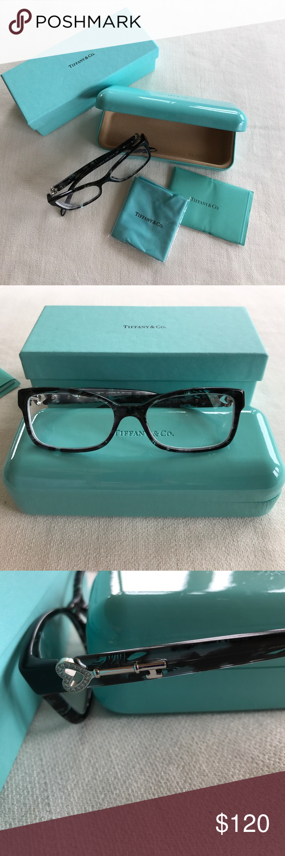 73d4be0235a2 Authentic Tiffany frames with case
