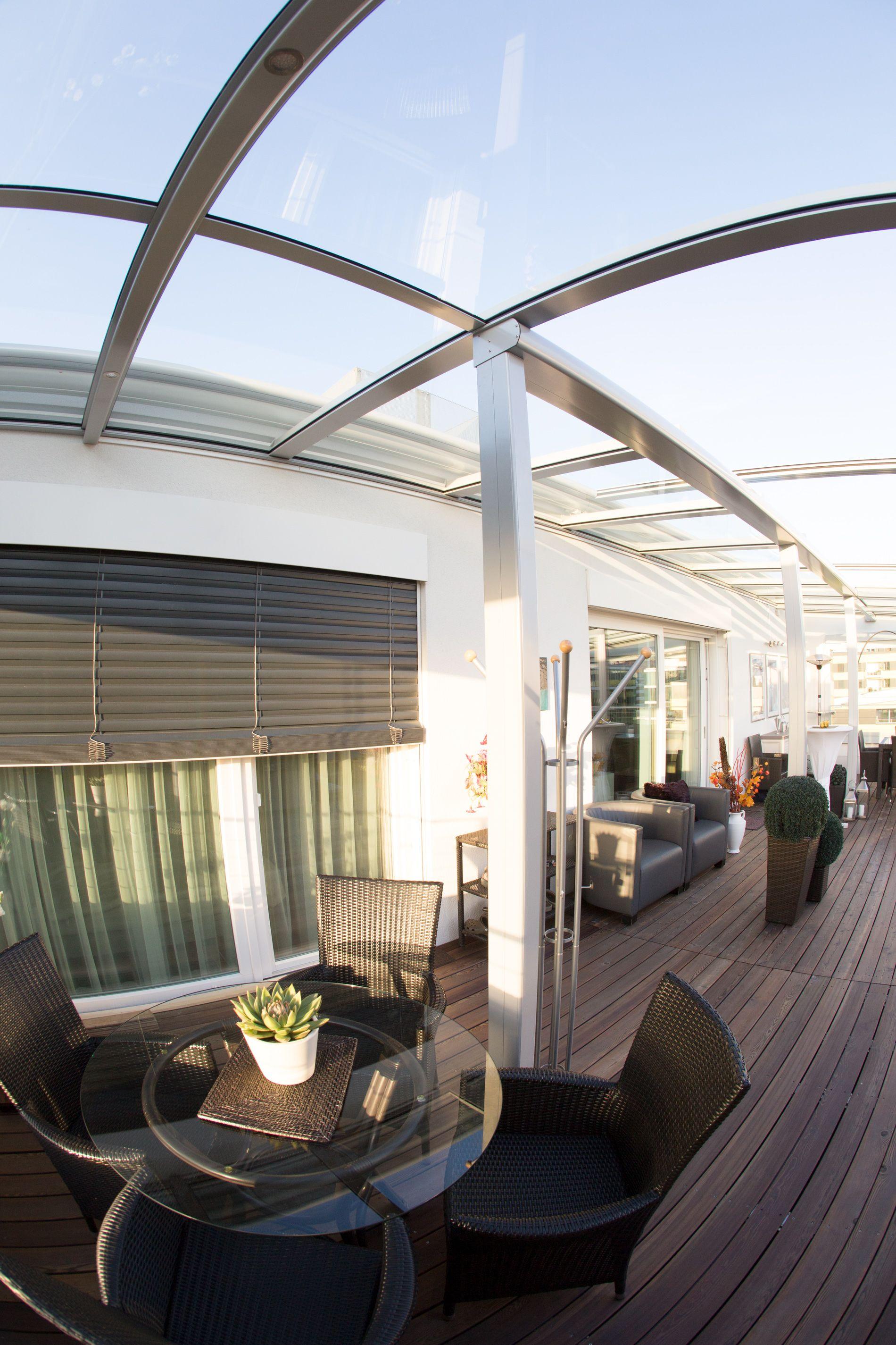 Terrassendach Windschutz Beleuchtung   Verglasungen // Balkon ...