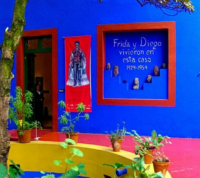 Frida y Diego - Casa Azul Mexico