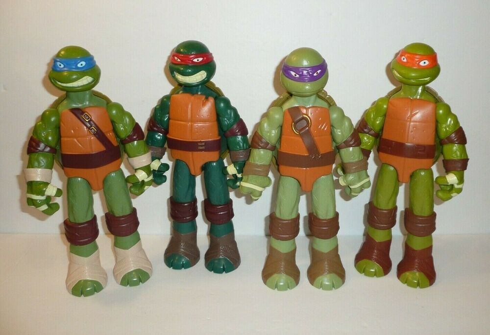 Teenage Mutant Ninja Turtles Action Figures Lot Toy Lot