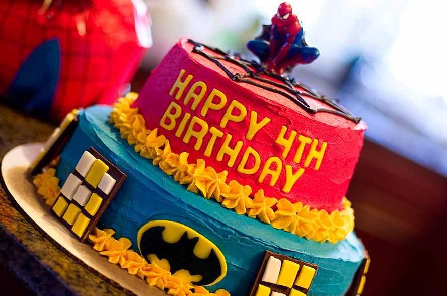 Birthday Cakes That Will Totally Blow You Away Superhero cake