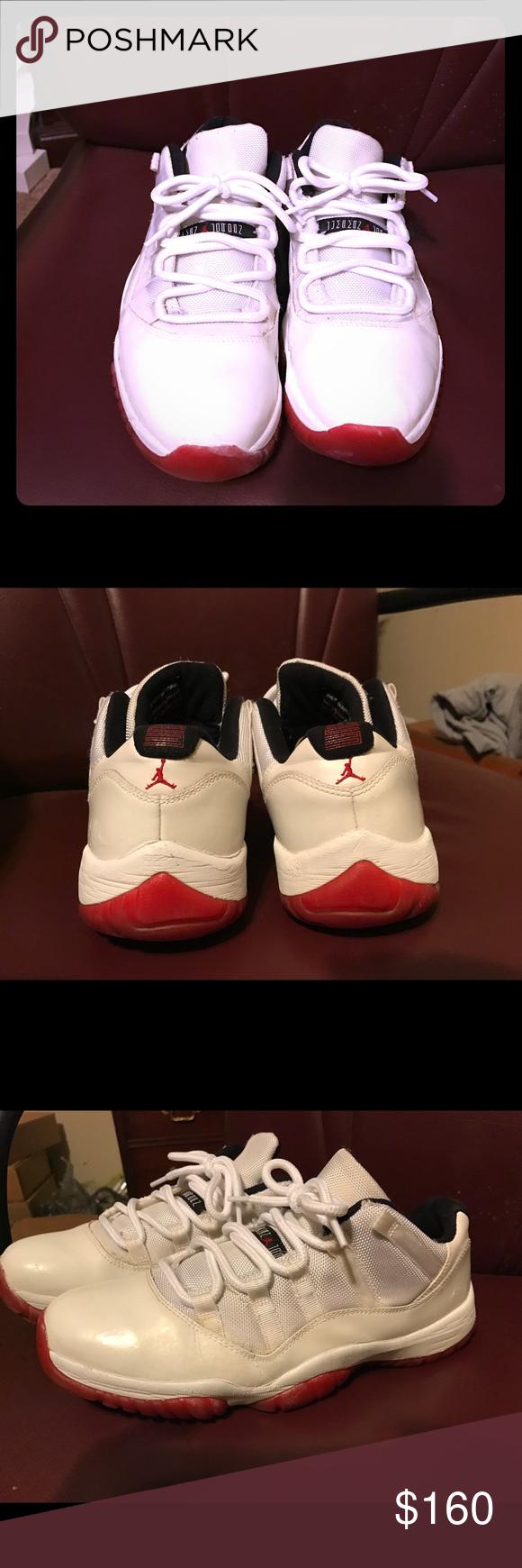 6f37412879d Air Jordan 11 Low Cherry Red Bottom Size 11 Air Jordan 11 Low Cherry Red  Bottoms Size 11. No Box or Insoles. OBO Jordan Shoes Sneakers