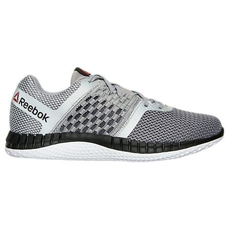 Men s Reebok ZPrint Run Running Shoes - AR1602 GRY  79dac6ac8